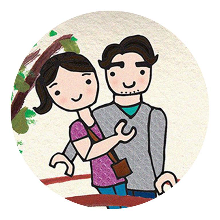 Los viajes de Carlos y Eva